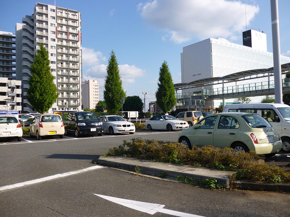 ひたち野うしく駅東口広場駐車場