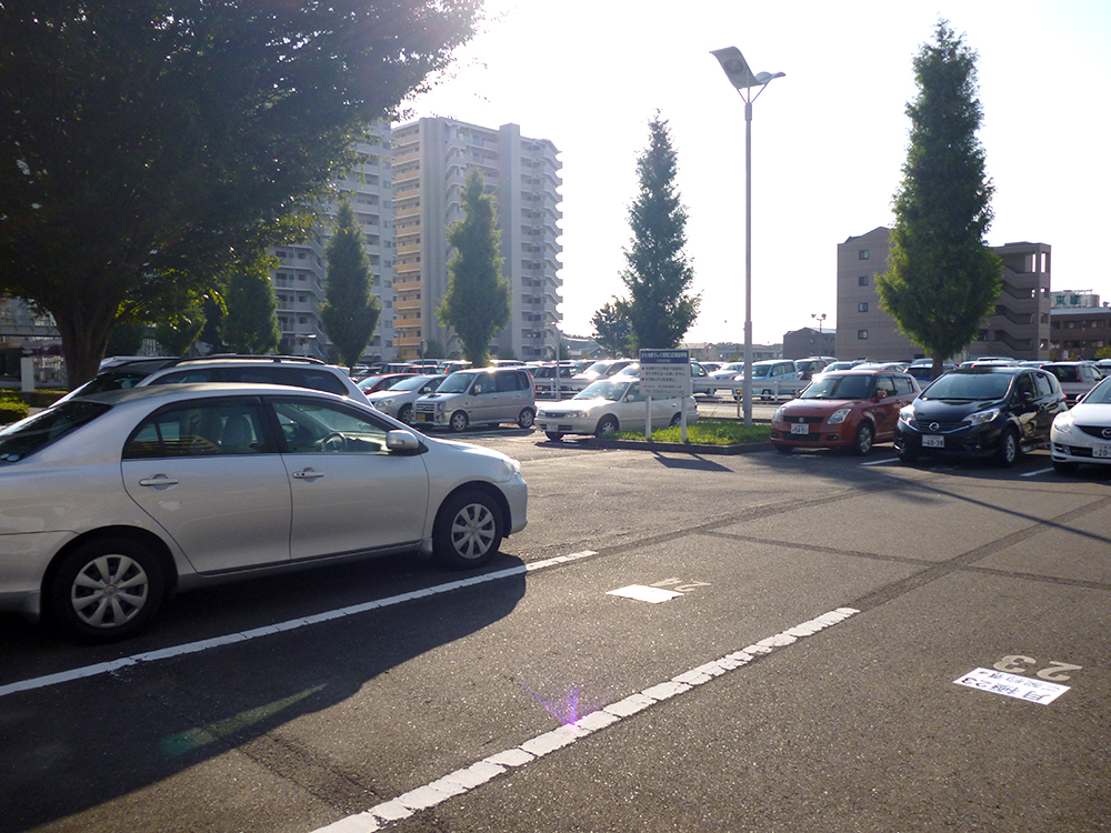 ひたち野うしく駅西口広場駐車場